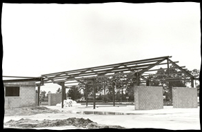 Image:  Early construction photo